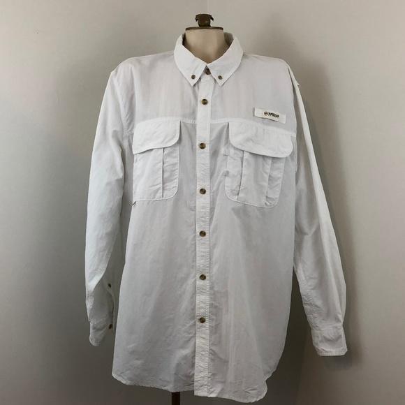 29ea4f6f016 Magellan Outdoors Shirts | Fish Gear Angler Fit Ls Shirt | Poshmark
